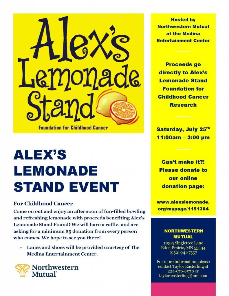 Alex's Lemonade - 07252015
