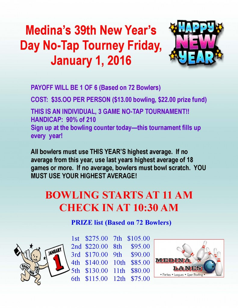 New Years Day Tourney-2016