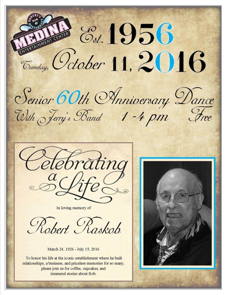 60th Anniversary Dance Celebration of Life