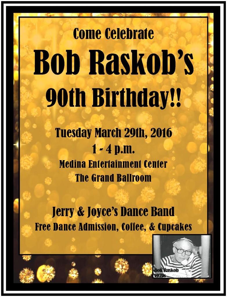 Bob's 90th B-Day 2016