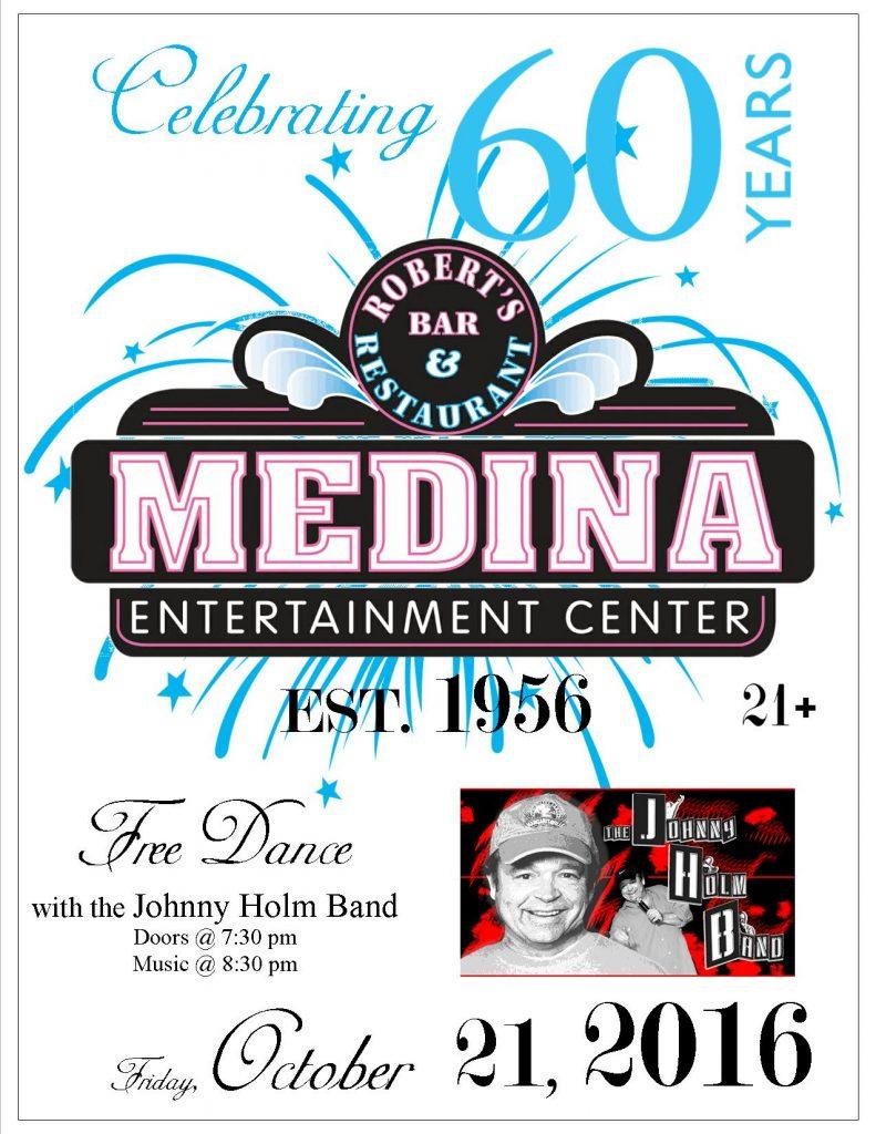 60th Anniversary Dance Johnny Holm